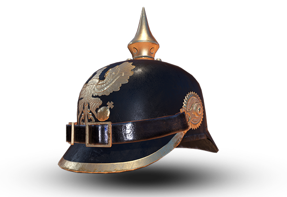 Cască model Pickelhaube